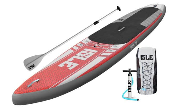 827a1a5cb81a1b ISLE Airtech 12 6 Touring Inflatable SUP Review - Globo Surf - Globo ...