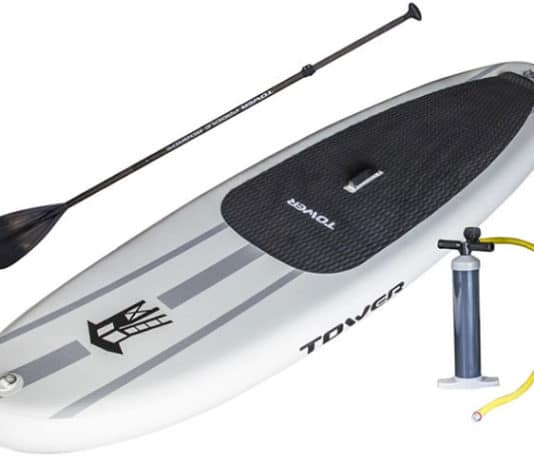 """Tower-Adventurer-9'10""""-Inflatable-SUP-Review"""