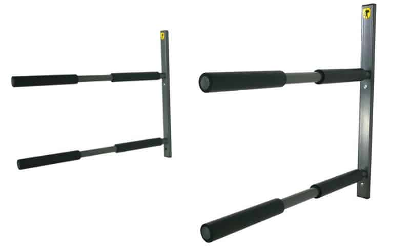 Double-SUP-Wall-Rack-2-Paddle-Board-Storage-Mount-StoreYourBoard