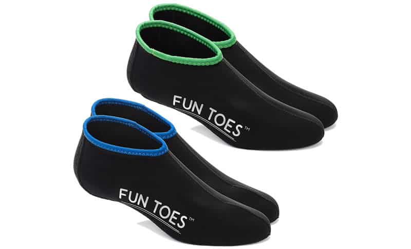 FUN-TOES-2.5MM-Neoprene-Socks-for-Water-Sports-for-Women-&-Men