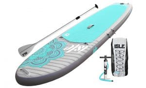 ISLE-Airtech-Inflatable-10'4-Yoga-Stand-Up-Paddle-Board
