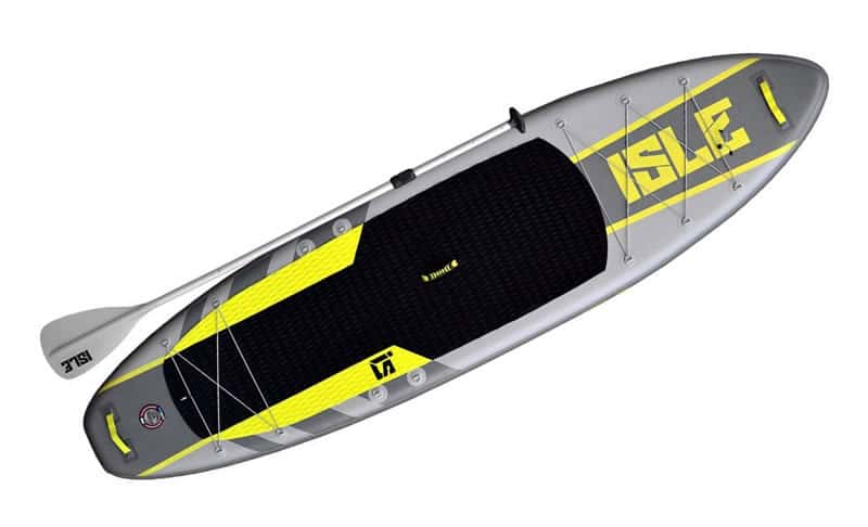 ISLE-Airtech-Inflatable-11-Explorer-Stand-Up-Paddle-Board-(6-Thick)-iSUP-Package