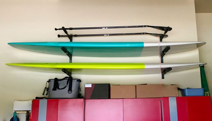 5 Best Paddle Board Surfboard Wall Racks In 2018