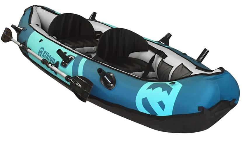 Elkton-Outdoors-10'-Foot-Inflatable-Tear-Resistant-Fishing-Kayak
