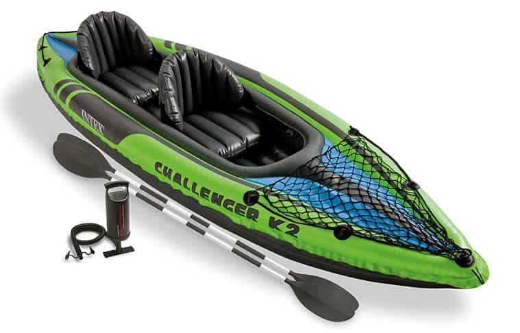 Intex-Challenger-K2-Kayak,-2-Person-Inflatable-Kayak-Set