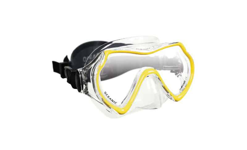 Oceanic Mako Dive Mask, with Hard Mask Box