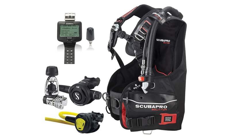 ScubaPro Equator BC, MK21/S560 Regulator, Galileo Dive Computer, Scuba Gear Package