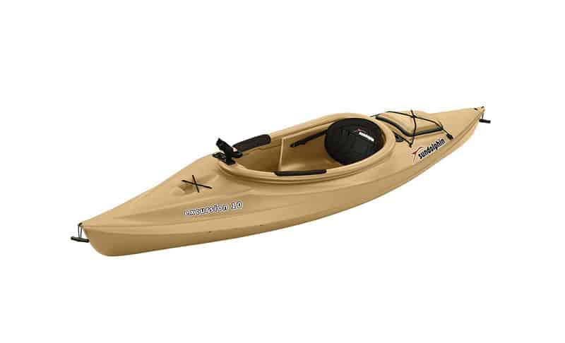 Sun Dolphin Excursion 10-Foot Sit-in Fishing Kayak