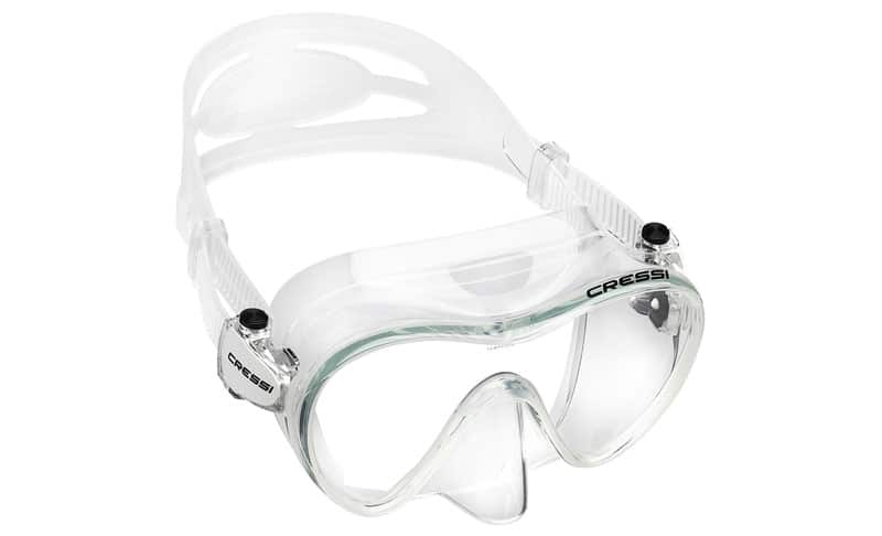 Cressi-F1,-Scuba-Diving-Snorkeling-Frameless-Mask