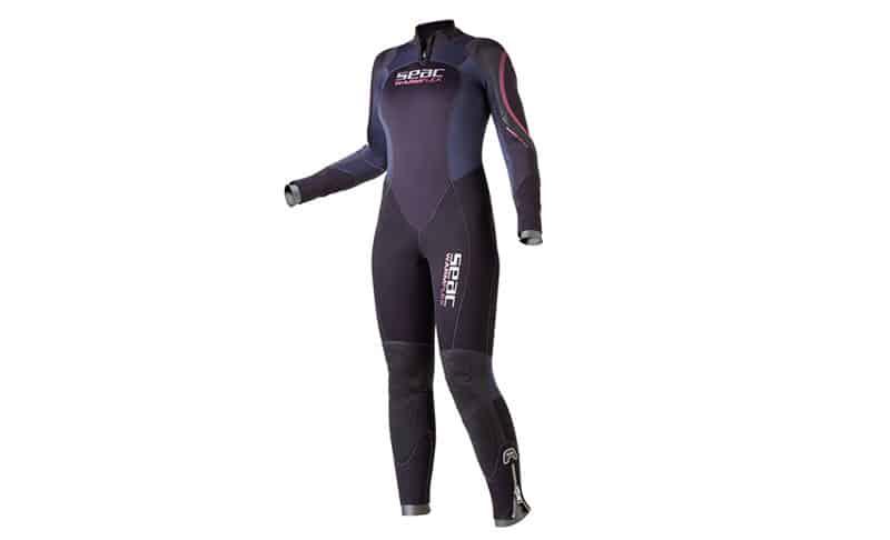 SEAC Women's Warm Flex Plus 5mm Neoprene Full Body Wetsuit