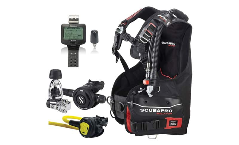 ScubaPro-Equator-BC,-MK21S560-Regulator,-Galileo-Dive-Computer,-Scuba-Gear-Package