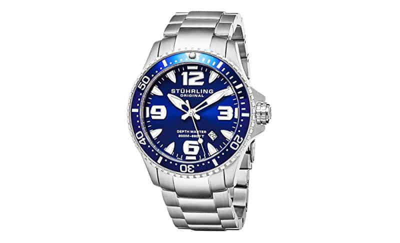 Stuhrling-Original-Men's-Swiss-Limited-Edition-Professional-Dive-Watch