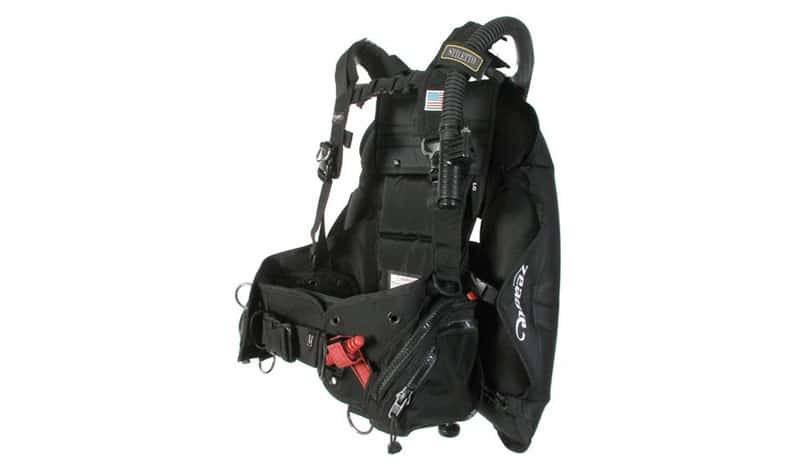 Zeagle-Stiletto-BCD-with-the-Ripcord-Weight-System
