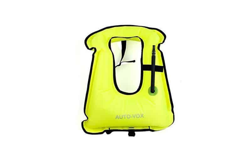 Auto-Vox-Adult-Portable-Inflatable-Snorkeling-Diving-Vest