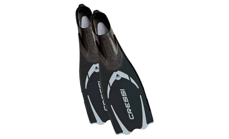Cressi-PLUMA,-Full-Foot-Lightweight-Fins-for-Diving-&-Snorkeling