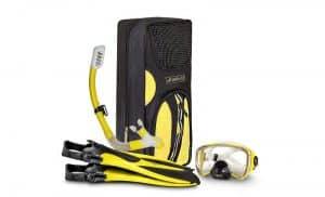 Seal-Buddy-FIJI-Panoramic-Snorkel-set-+-Premium-Travel-Gear-Bag