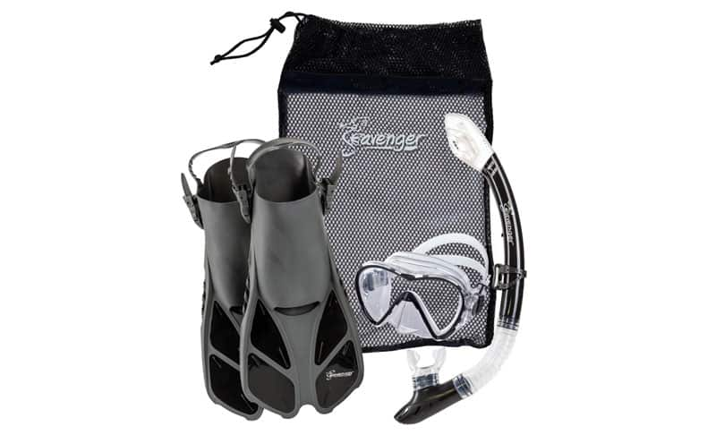 Seavenger-Adult-and-Junior-Diving-Snorkel-Set