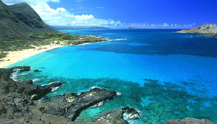 This Beach Has Some Of The Best Views On Oahu A Mile Long Sits Between Waianae Mountains And Pacific Ocean West Coast Island
