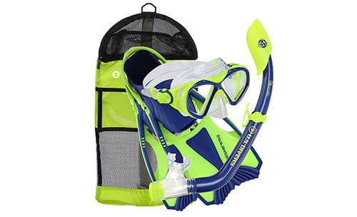 Youth-Buzz-Junior-Snorkel-Set-by-U.S.-Divers