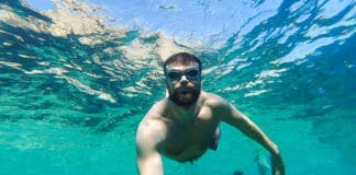 Snorkeling-with-a-Mustache-or-Beard