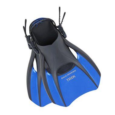 US Divers Trek Travel Snorkeling Fins