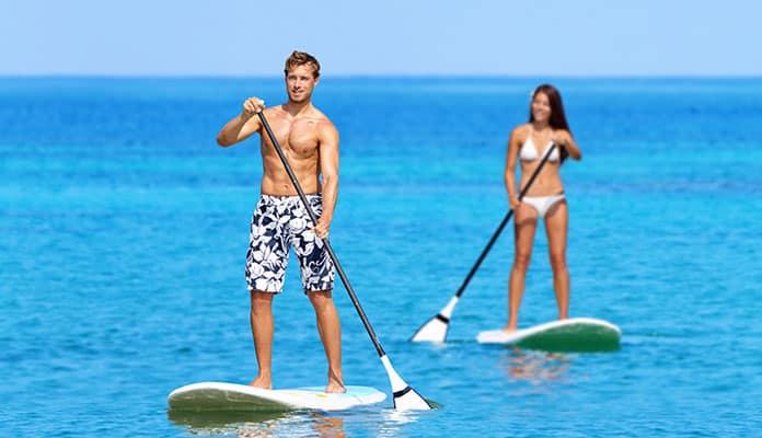 Oahu-Paddleboarding