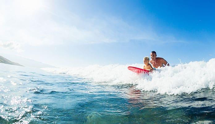 Oahu-Surfing