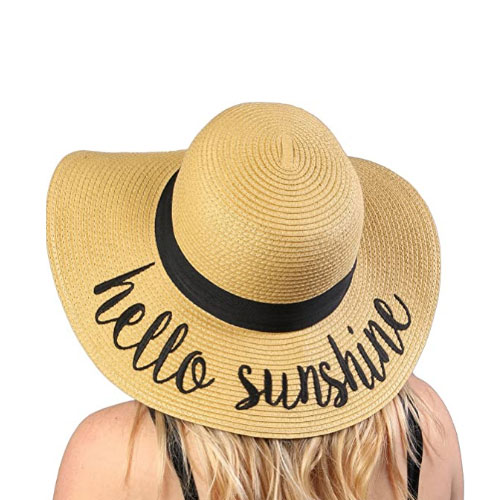 Funky Junque Women's Beach Floppy Sun Hat