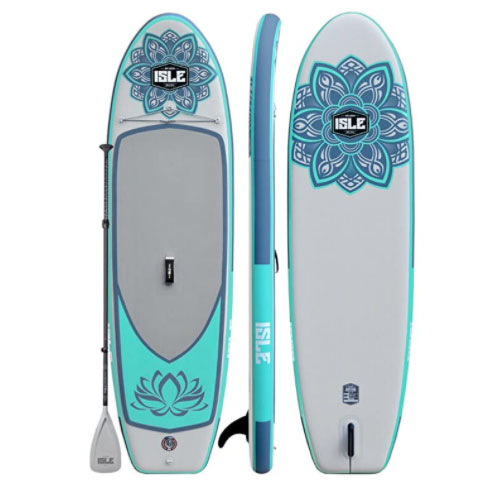ISLE Airtech Scout 11′ Scout Inflatable Yoga Paddle Board