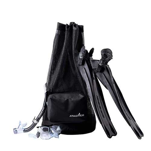 Athletico XL Mesh Backpack Dive Bag