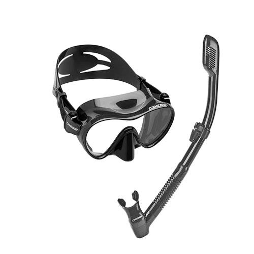 Cressi Frameless Ultra Clear Snorkel Mask