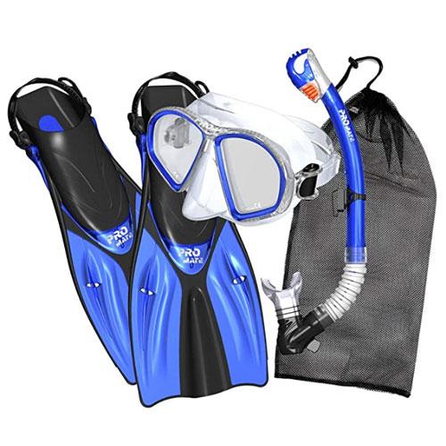 Promate Black Snorkel Gear
