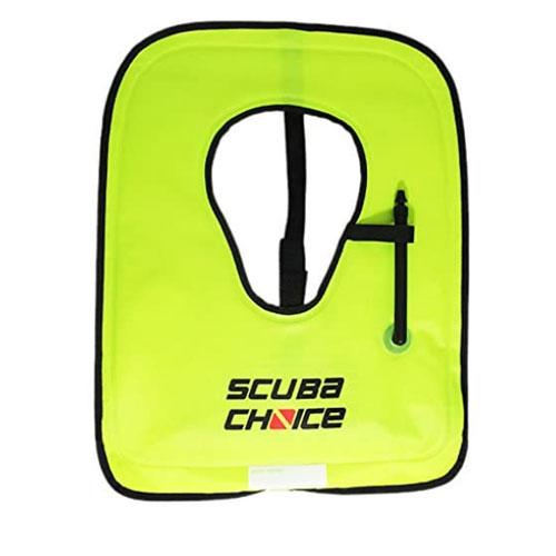 Scuba Choice Adult Neon Yellow Snorkel Vest