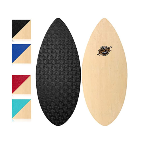 South Bay Board Co. Wooden Skimboard