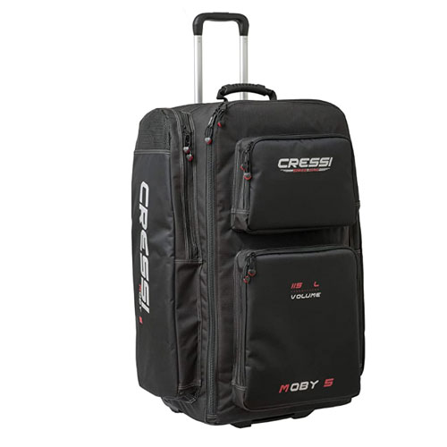 Cressi Moby 5 Trolley Dive Bag