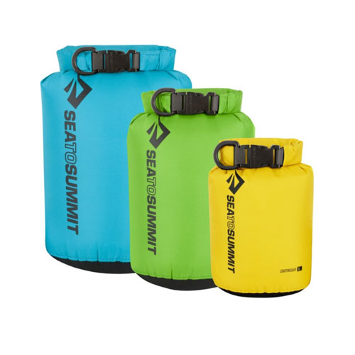 Sea to Summit Compact and Lightweight Waterproof Dry Bags