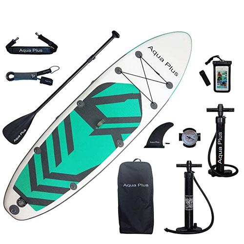 Aqua Plus Inflatable Yoga Paddle Board