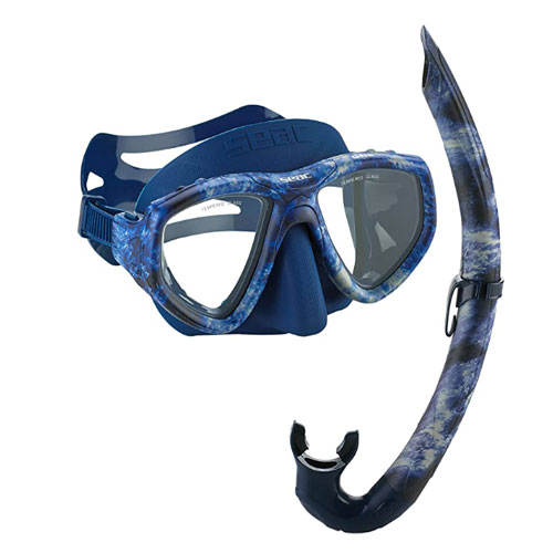 Seac One Camouflage Spearfishing Mask