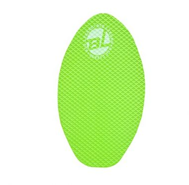Deluxe Wood SkimBoard w/ EVA Traction Pad for X-Grip