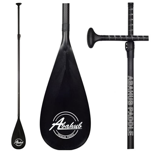 Abahub 3- Piece Carbon Fiber SUP Paddle