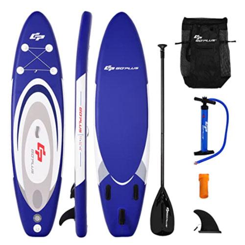 Goplus Inflatable Yoga Paddle Boards