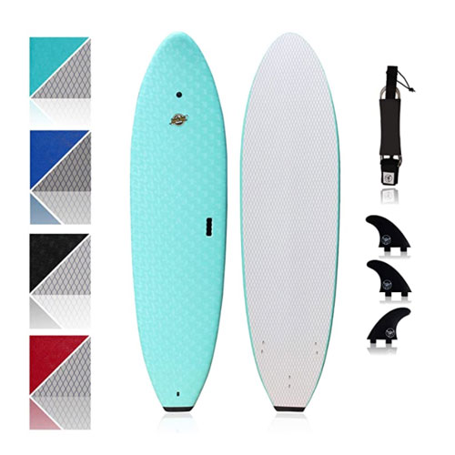South Bay Board Co. Premium Beginner Surfboard
