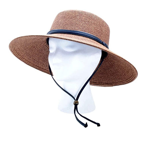 Sloggers Wide Brim Braided Women's Sun Hat