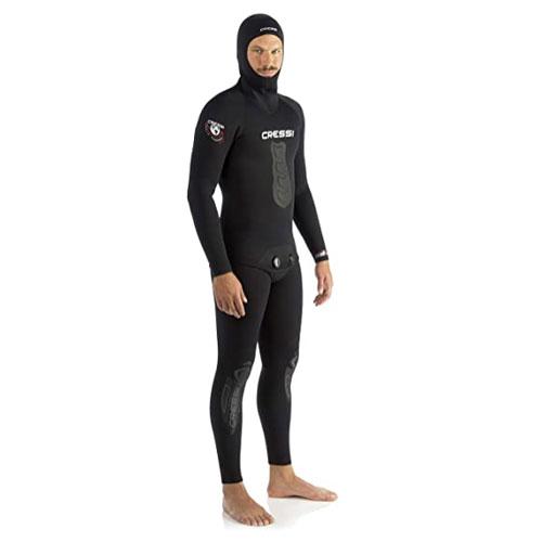 Cressi Men's Apnea Two-Piece Neoprene 5mm Spearfishing Wetsuit