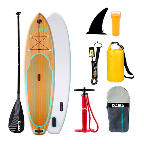 DAMA Inflatable Yoga Paddle Board