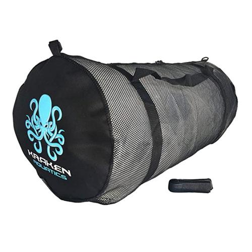 Kraken Aquatics Mesh Duffle Gear Dive Bag