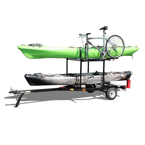 Right On Multi-Rack Kayak Trailer