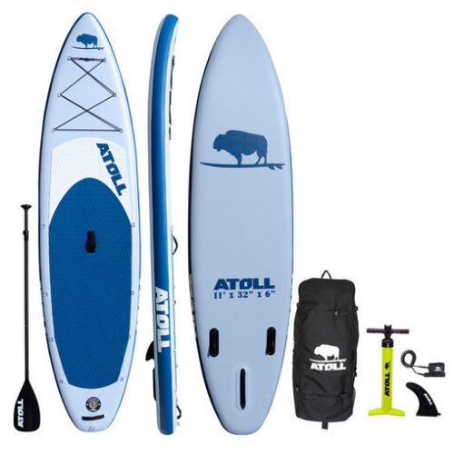 Atoll Light Blue Inflatable Paddle Board