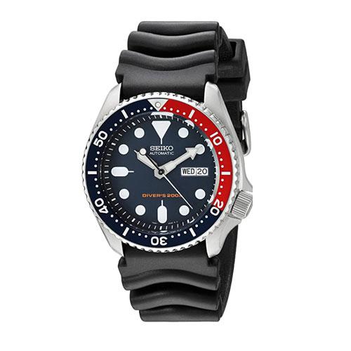 Seiko SKX009K1 Deep Blue Automatic Dive Watch
