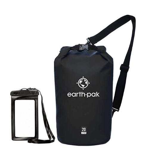 Earth Pak Waterproof Roll Top Compression Waterproof Dry Bag